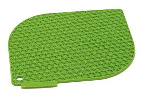 Charles Viancin Silicone Honeycomb Pot Holder - Trivet Bamboo Green