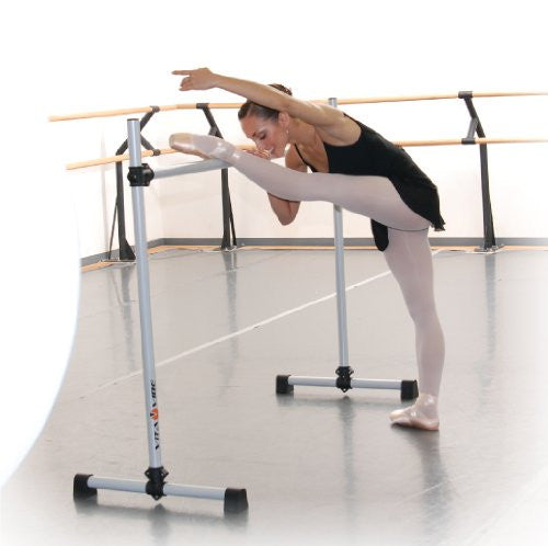 Vita Vibe Ballet Barre - BNB5 5ft Portable Single Bar w/Bag - Freestanding Stretch/Dance Bar - Vita Vibe - USA Made