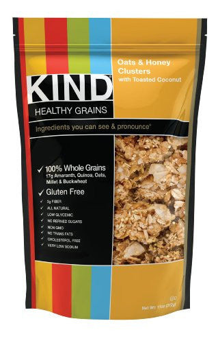 Healthy Grains Oats and Honey with Coconut - 11 oz