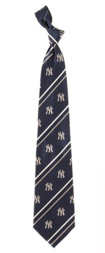 New York Yankees Tie Cambridge Stripe - Woven Silk