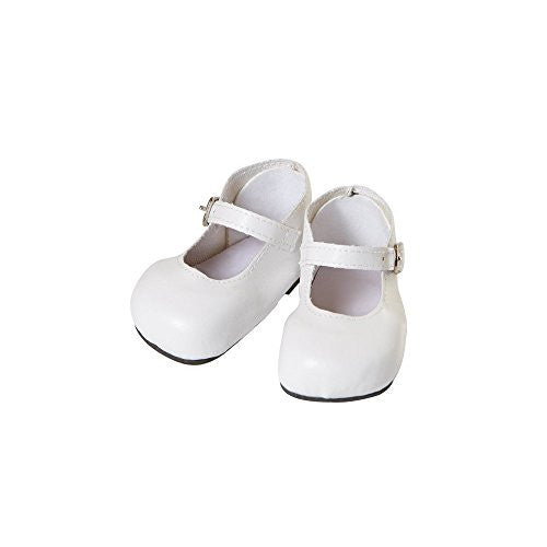 ToddlerTime Shoes - MARY JANE - WHITE