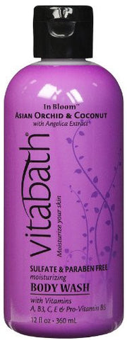 VB Fragrance Collection -  Asian Orchid & Coconut Body Wash, 12 fl.oz