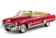 Signature Models - Cadillac Series 62 Convertible Coupe (1949, 1/32 scale diecast model car, Coral)