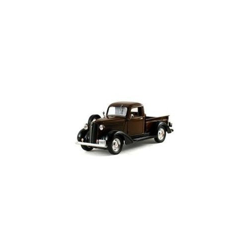 Signature Models - Plymouth Pickup Truck (1937, 1/32 scale diecast model car, Brown)