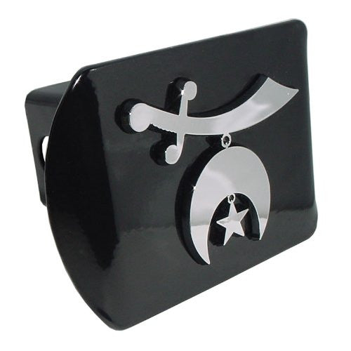 Shriner Black Hitch Cover