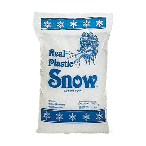 Department 56 Real Plastic Snow 7 oz bag