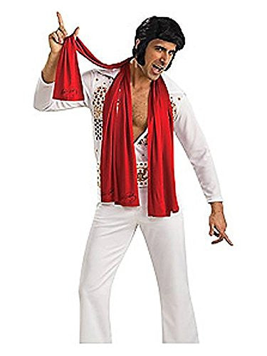 Elvis Scarves Red (set of 3)