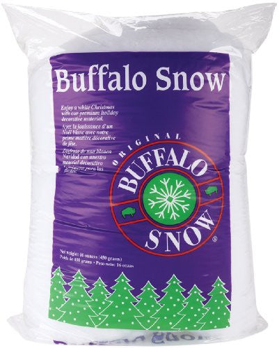 1 LB. SNOW COVER FLUFF IDEAL FOR HOLIDAY DECORATING