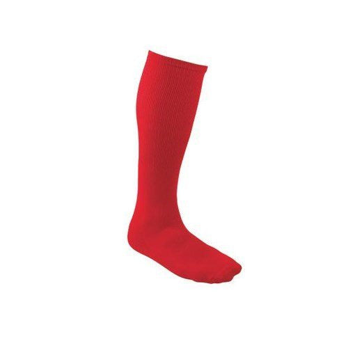 All Sports Socks - Baseball, Football, Soccer - Red, Large