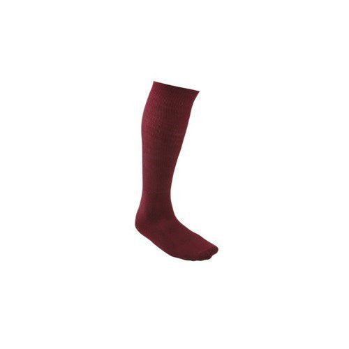 All Sports Socks - Baseball, Football, Soccer - Maroon, Large