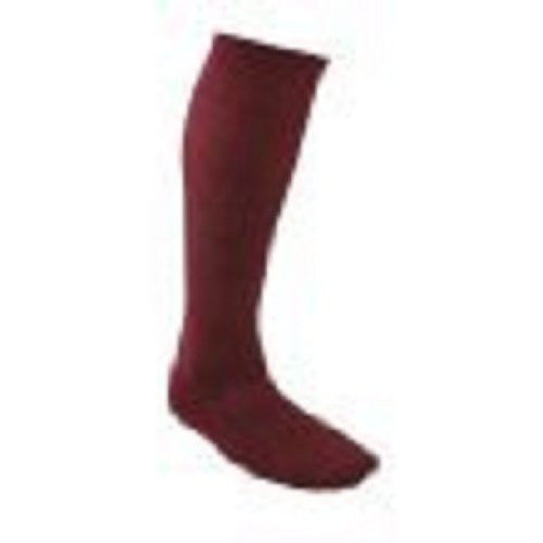 All Sports Socks - Baseball, Football, Soccer - Maroon, Medium