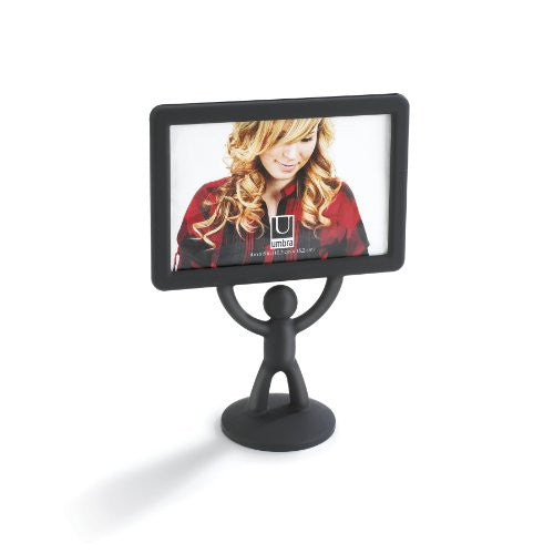 Umbra Hercules 4-by-6-Inch Desktop Picture Frame, Horizontal