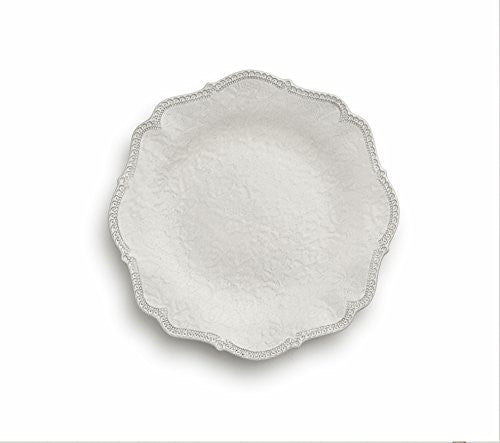 Merletto Antique Scalloped Dinner Plate