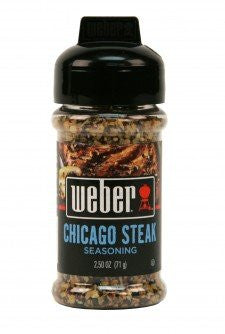 Weber Grill Seasoning Chicago Steak 2.5 OZ