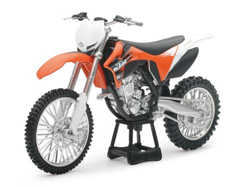 New Ray Die-Cast KTM 2011 350SX Motorcycle Replica 1:12 Scale Orange