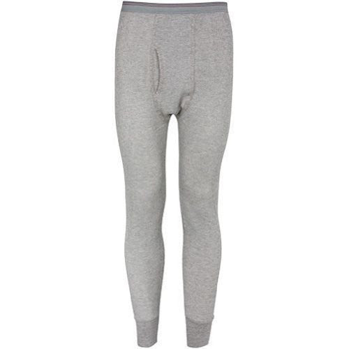 Indera Mills Colored Thermal Long John Bottoms (Grey / Medium)