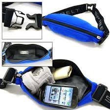 SPIbelt Adult Messenger Bag, Logo Band, Blue