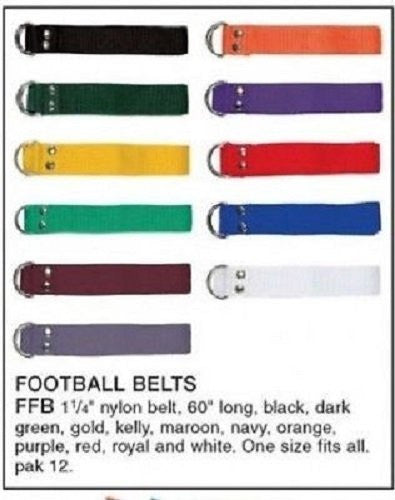 Football Belts, Dark Green