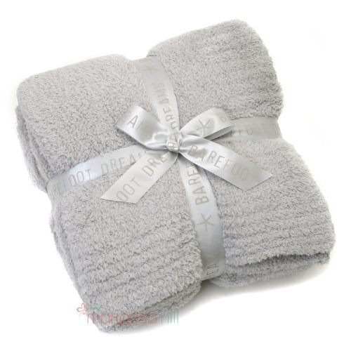 CozyChic Ribbed Throw Ocean 54x72