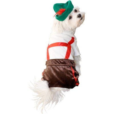 Lederhosen Dog Costume, Large