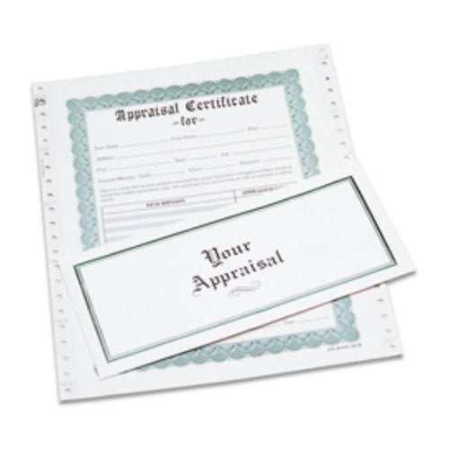 APPRAISAL FORMS - BX/100