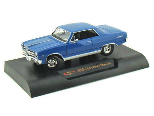 Signature Models - Chevrolet Malibu Hard Top (1965, 1/32 scale diecast model car, Blue)