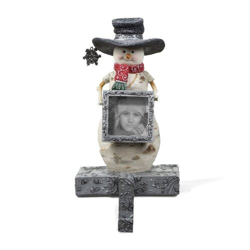 "DadHeart 6"" Snowman Stocking Holder"