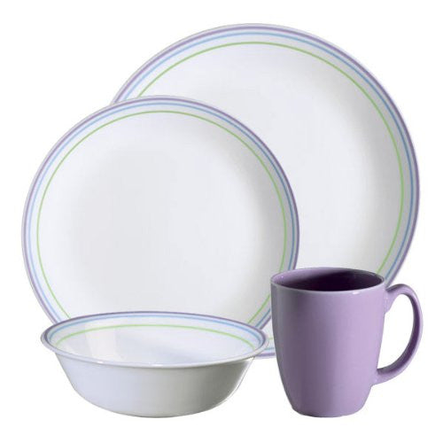 Corelle Livingware Set, Moonglow, 16-Piece