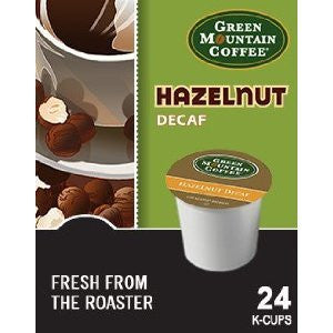 Green Mountain Coffee® Hazelnut Decaf Coffee K-Cup® Packs, 24/Bx
