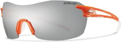 Smith Optics Pivlock V90 Sunglass, Orange / Platinum,Ignitor,Clear