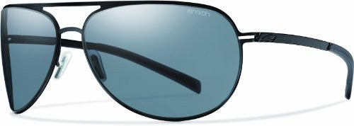 Showdown Matte Black with Polarized Gray Lens