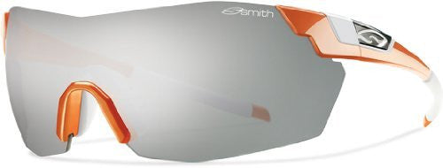 Smith Optics Pivlock V2 Max Sunglass, Orange / Platinum,Ignitor,Clear