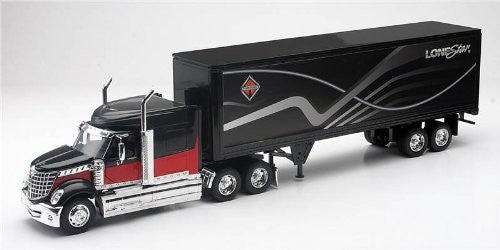 International Lonestar With Container Diecast Truck