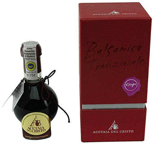 Acetaia Del Cristo Traditional Balsamic - Cherry (At Least 12 Years) 100 ml