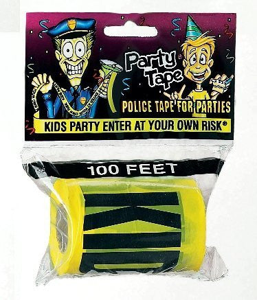 Kids Party Enter At Your Own Risk Tape