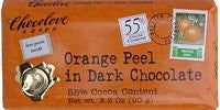CHOCOLOVE Chocolate Bars Dark With Orange Peel 12/3.2 OZ
