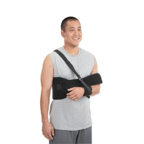 DELUXE STRAIGHT SHOULDER IMMOBILIZER, XL