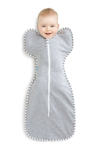 Love To Dream Swaddle Up Original- Gray- Medium 13 - 18.5 lbs