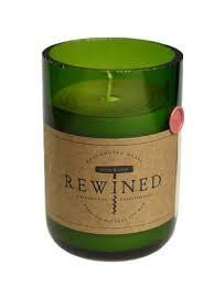 REWINED SIGNATURE CANDLE - MERLOT