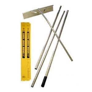 "Seymour Snow Roof Rake - 16', 4-Section, 60"" UPSable POP Box"