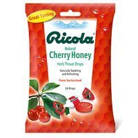 Ricola Bag Cherry Honey, 24 count
