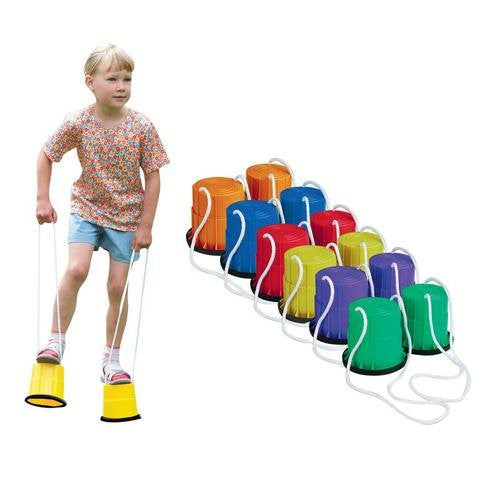 Bucket Stilts (Set of 6)