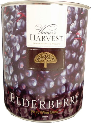 Vintner's Harvest Wine Base, Elderberry - Can