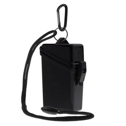 "KEEP-IT SAFE SPORT CASE, BLACK (2.7""W x 4.3""H x 1.3""D)"