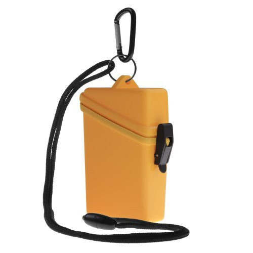 "KEEP-IT SAFE SPORT CASE, YELLOW (2.7""W x 4.3""H x 1.3""D)"