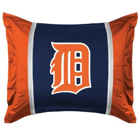 SIDELINES SHAM Detroit Tigers - Color Midnight - Size Stan