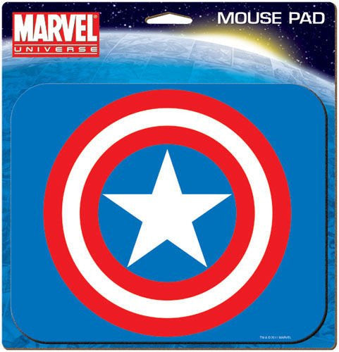 CAPTAIN AMERICA LOGO MOUSE PAD