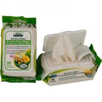 Bamboo Baby Breathe Easy Wipes - 30ct.
