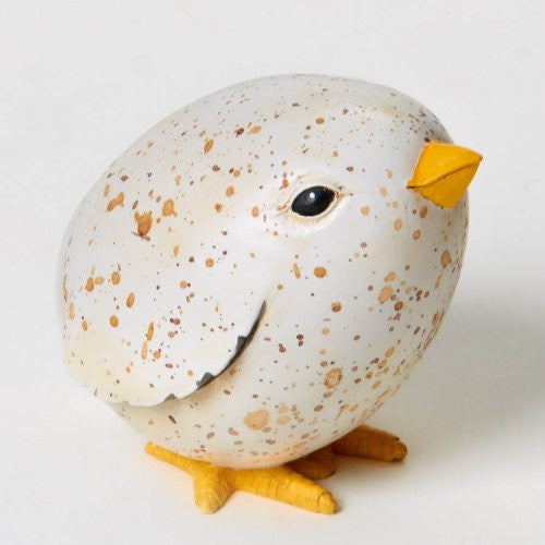 Home Grown Speckled Egg Chick Figurine