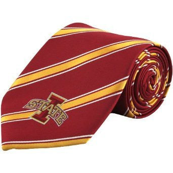 Iowa State Cyclones Tie Woven Poly 1